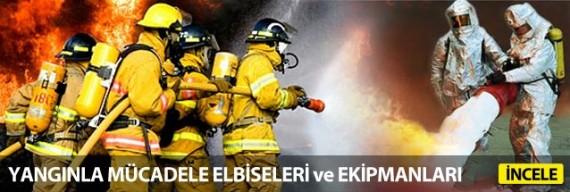 Yangınlar Mücadele Elbiseleri Ekipmanları